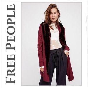 Free People Westwood hooded cardigan